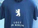 Lost in Berlin T shirt